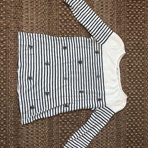 Loft long sleeve striped shirt 🖤